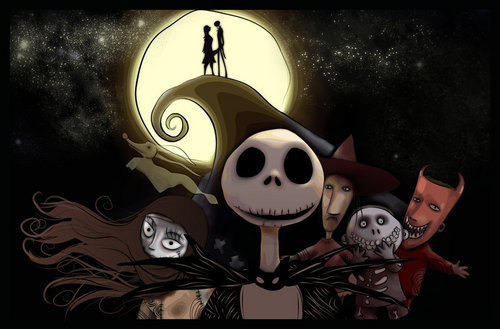 Nightmare Before Christmas Live Wallpaper
