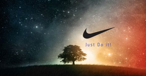 Nike Galaxy Wallpaper