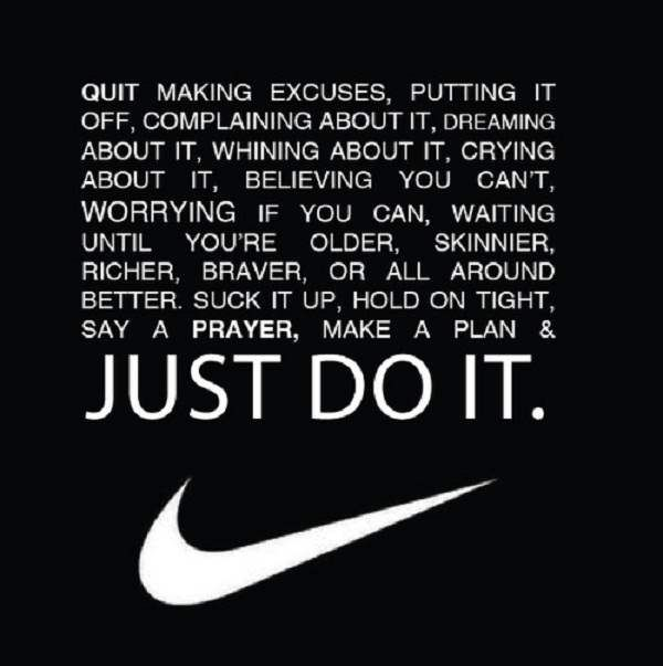Nike Motivational Quotes Wallpaper