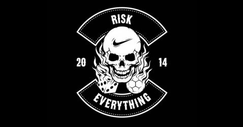 Nike Risk Everything Wallpaper