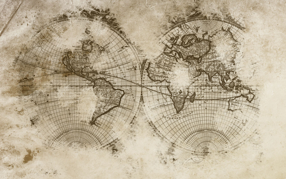 Old map wallpaper vintage old map wallpaper mural colour old map old map wallpaper mural gumiabroncs Gallery