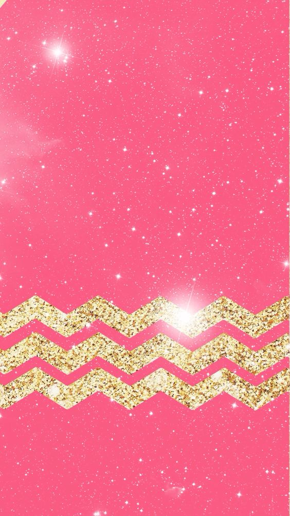 Pink And Gold Wallpaper