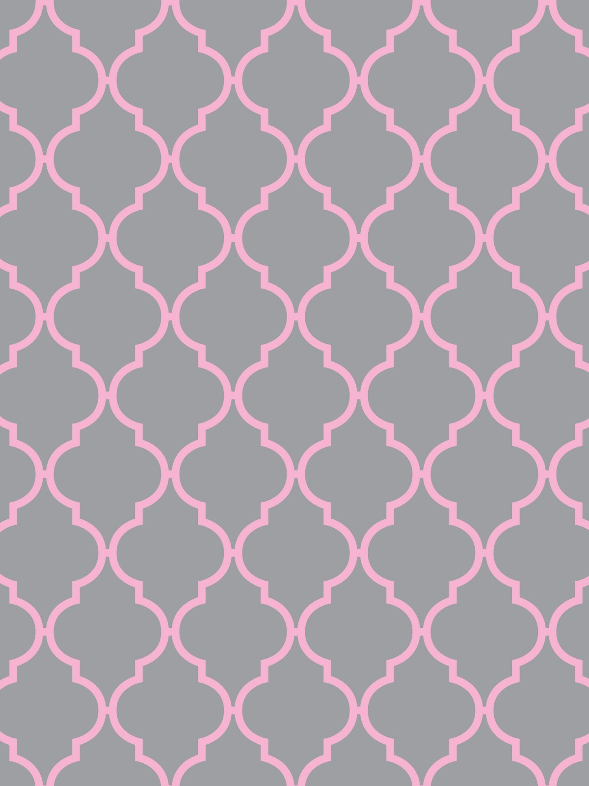 Pink And Grey Wallpaper