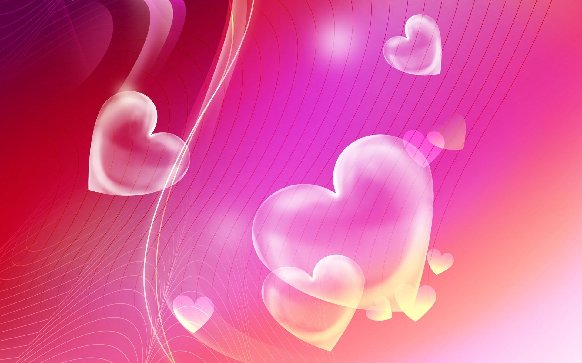 Pink Heart Wallpapers