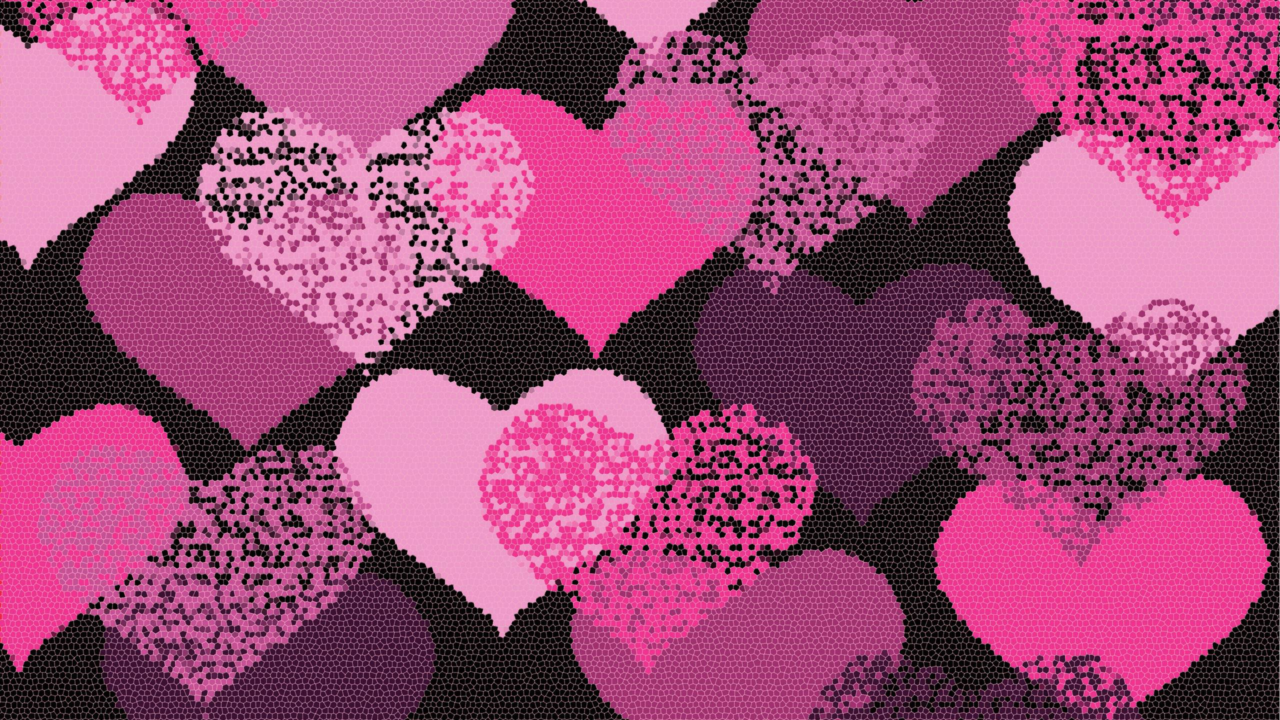 Aesthetic Judgments: Composition, Color Story Photofocus Pictures of pink and black hearts