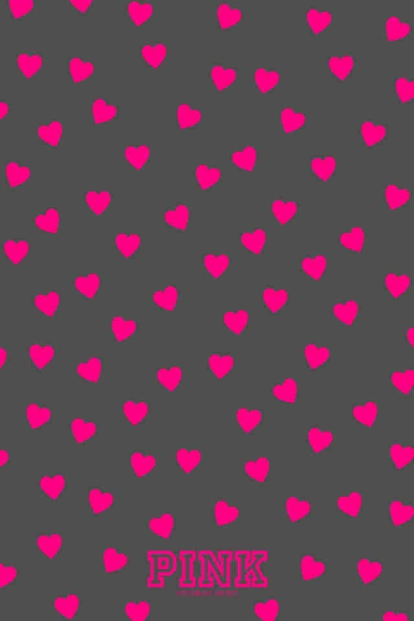 Pink Hearts Wallpapers