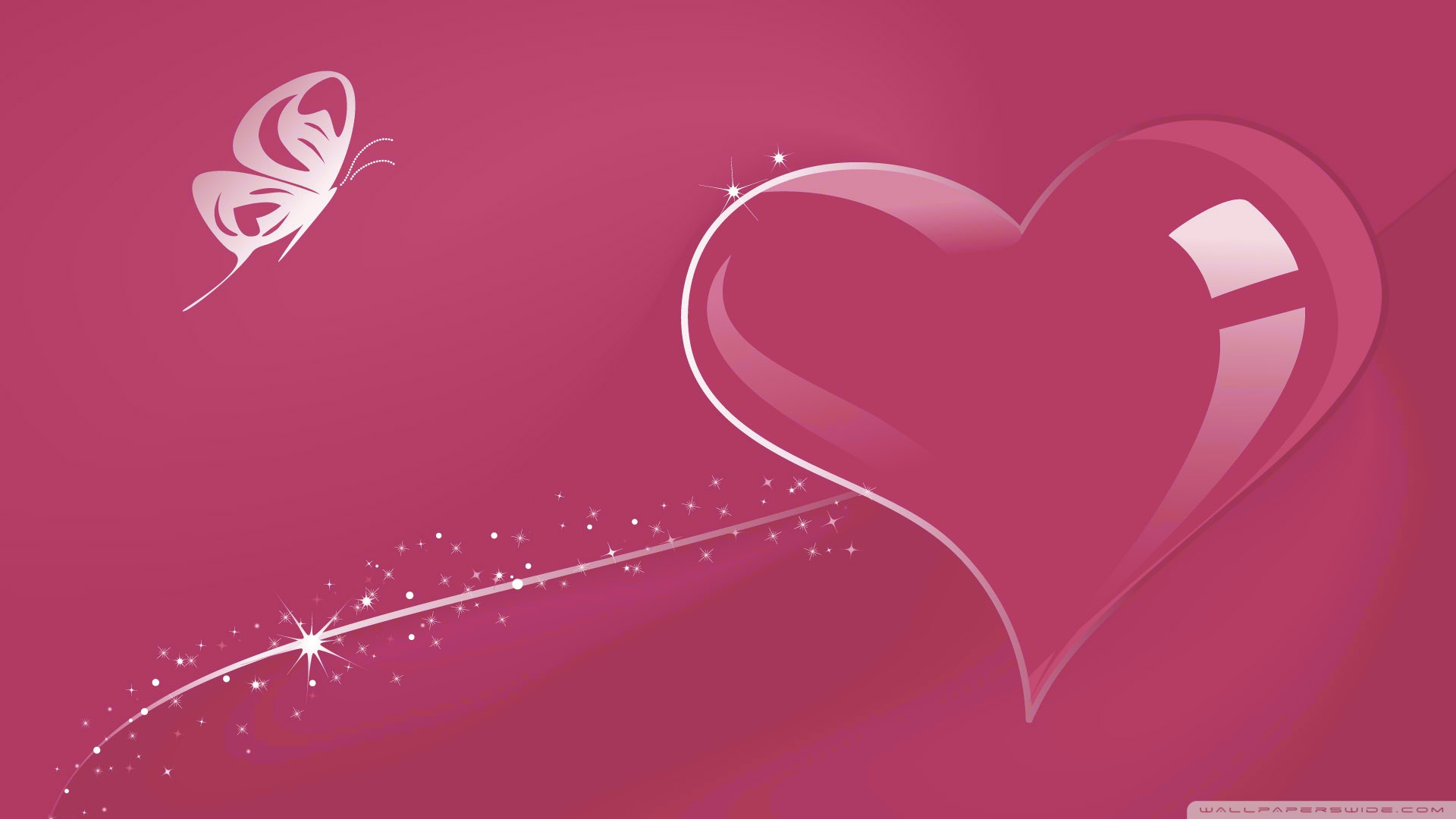 download pink hearts wallpapers gallery
