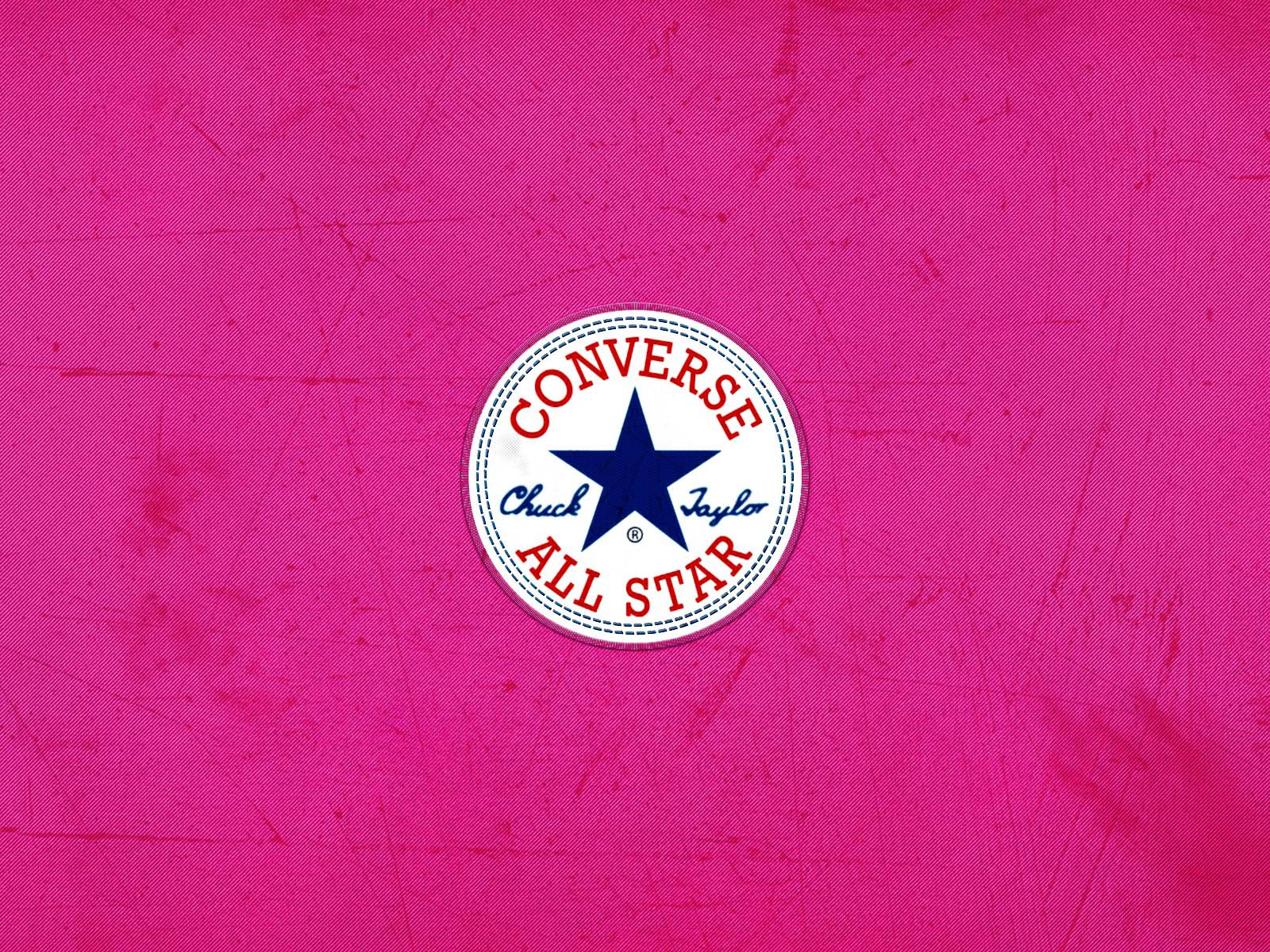 Pink Logo Wallpaper