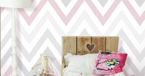Pink Removable Wallpaper