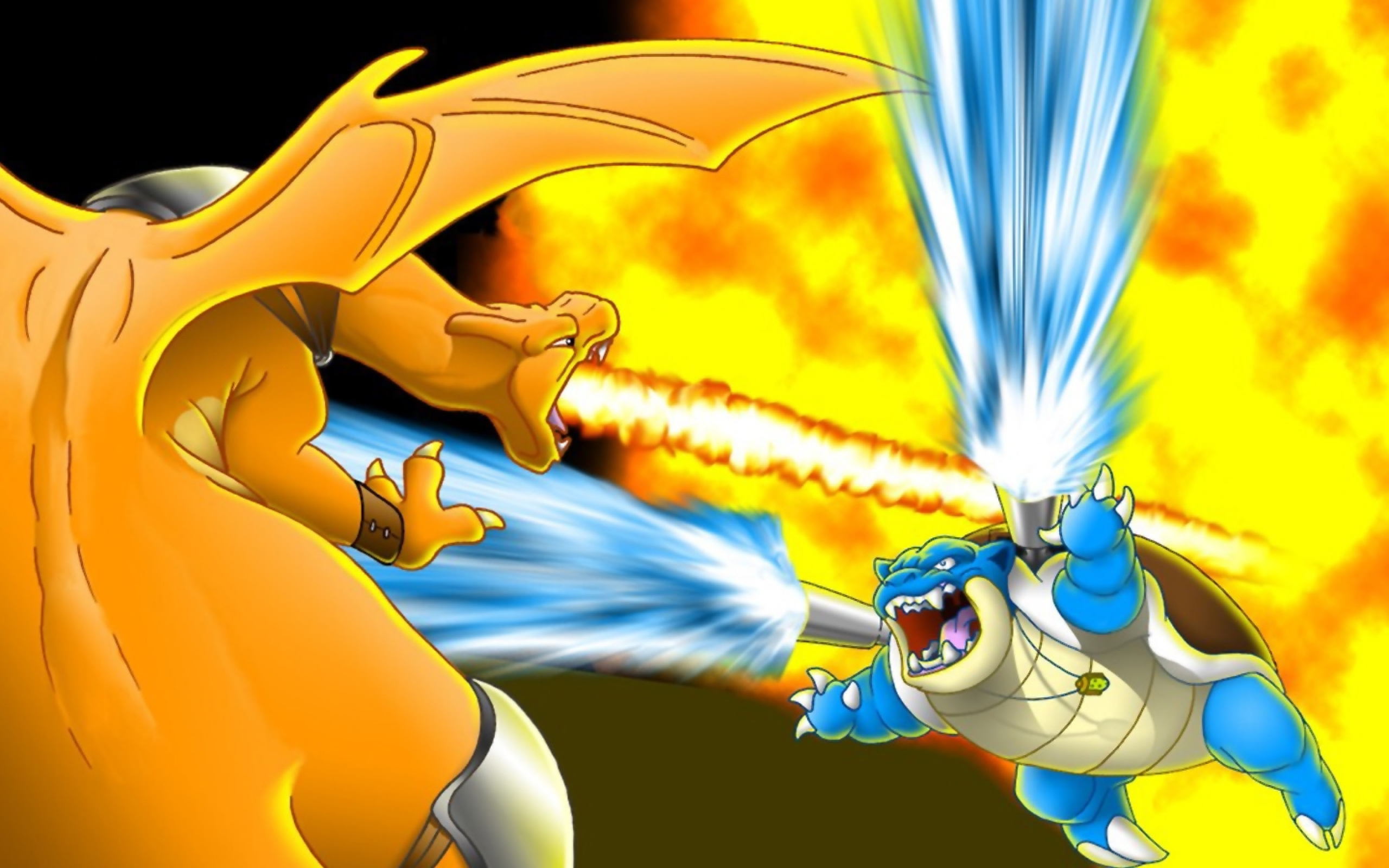 Pokemon Battle Wallpaper