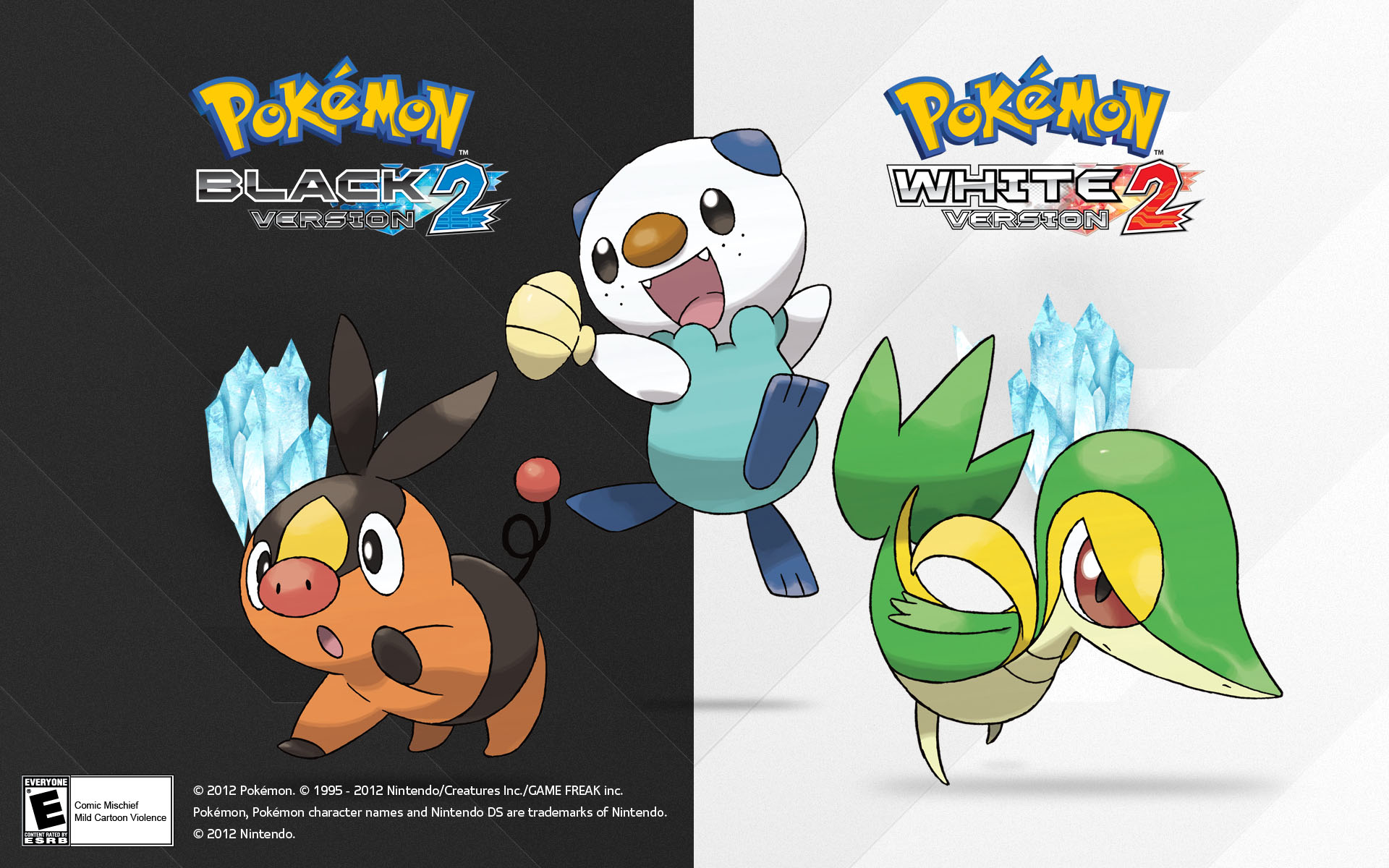 Pokemon Black And White Wallpapers