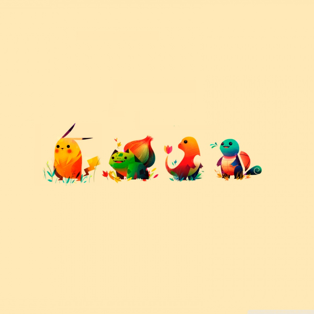 Pokemon Tablet Wallpaper