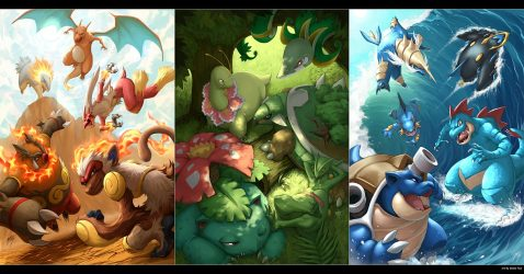 Pokemon Wallpaper Starters