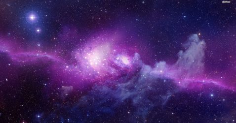 Purple Galaxy Wallpaper