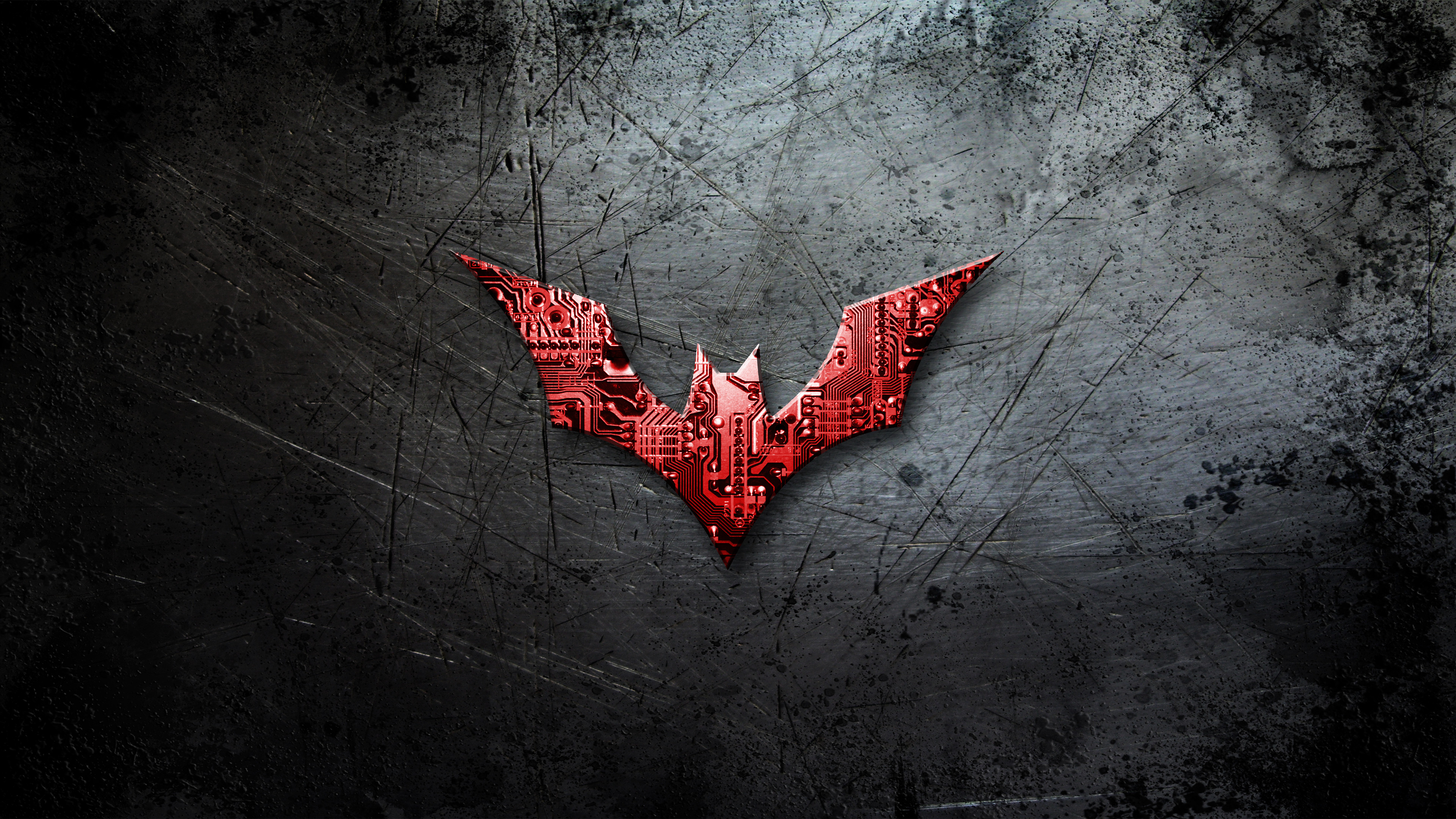 Red Batman Wallpaper