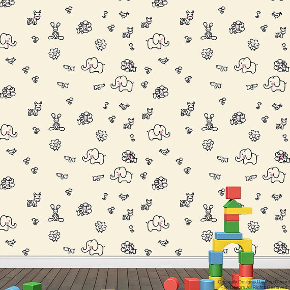Removable Kids Wallpaper