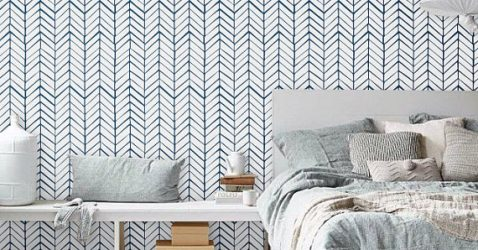 Removable Wallpaper Chevron