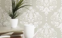Removable Wallpaper Damask