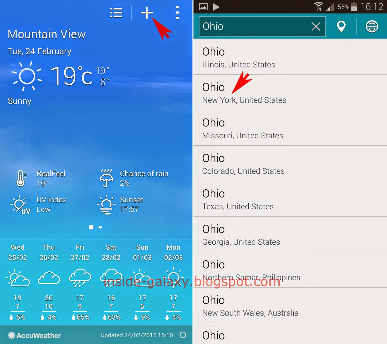 Download Samsung Galaxy S3 Live Weather Wallpaper Gallery