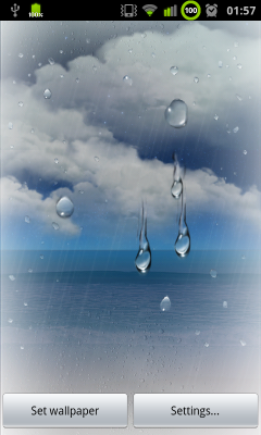 Samsung Galaxy S3 Live Weather Wallpaper