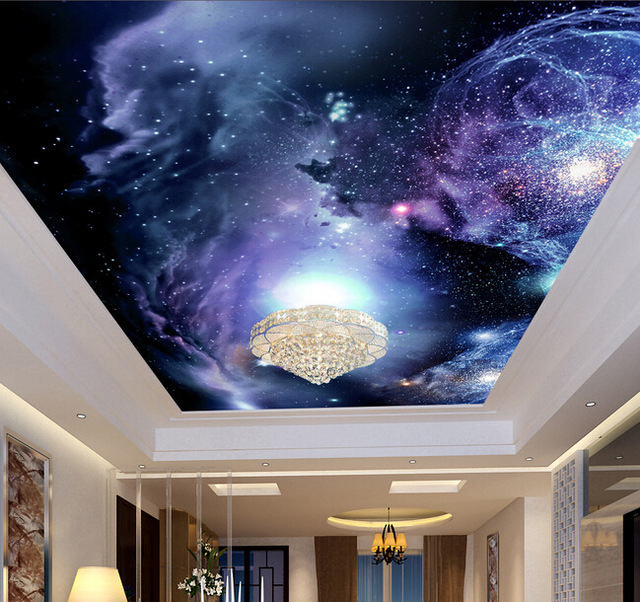 Download space bedroom wallpaper gallery for Space wallpaper bedroom