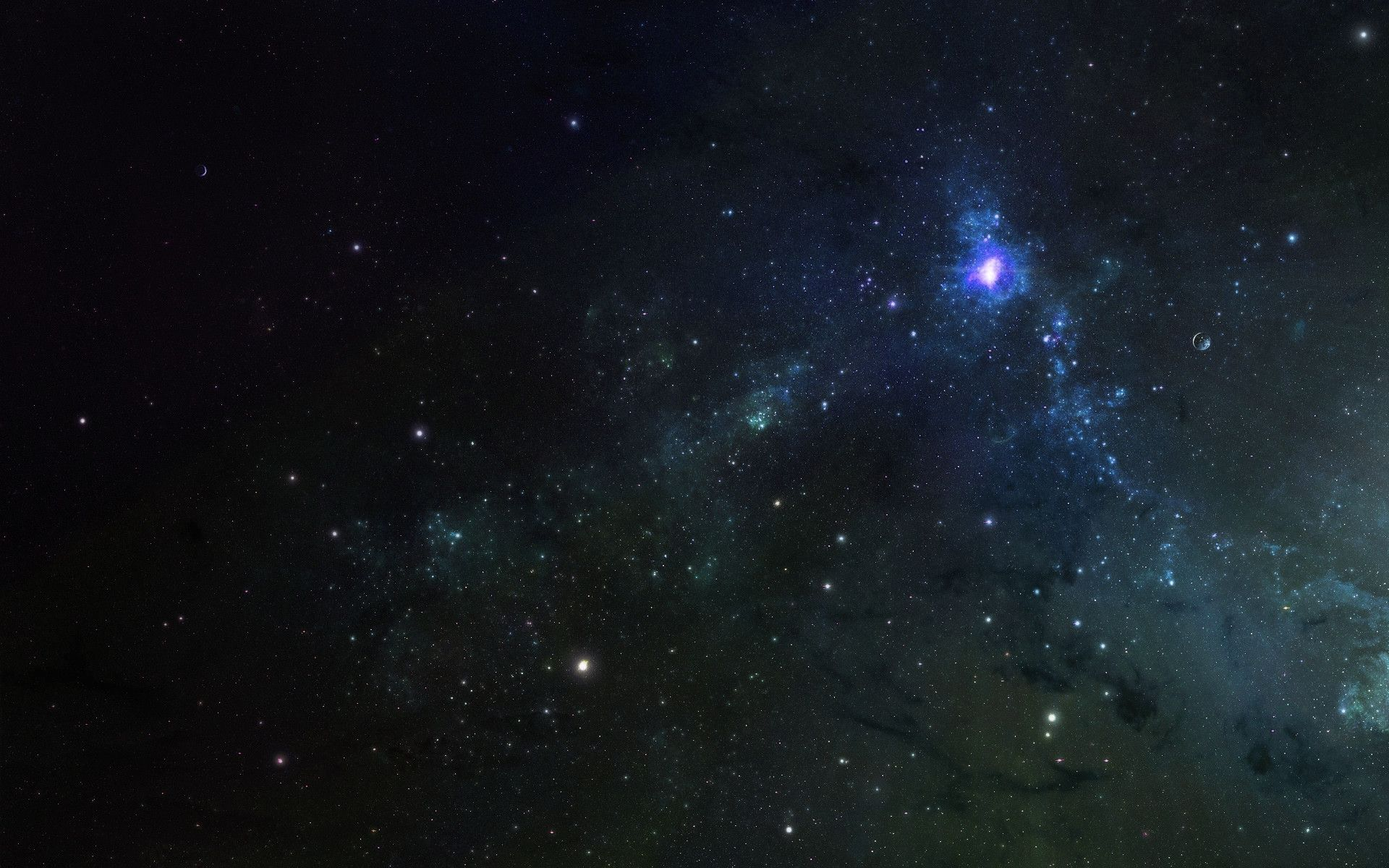 Space Stars Wallpaper