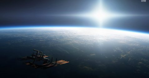 Space Station Wallpaper