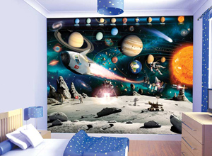 Space Wallpaper Mural
