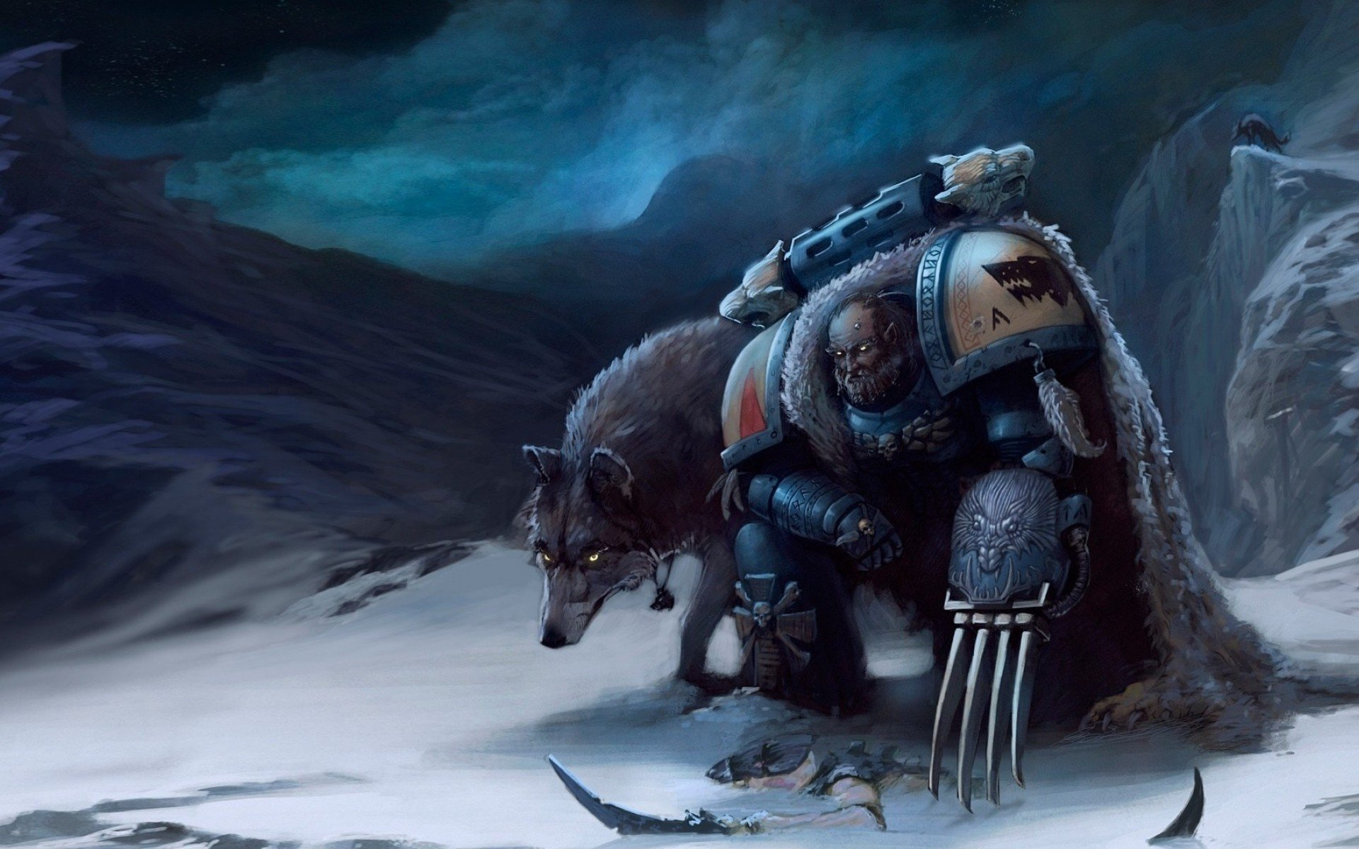 Space Wolves Wallpaper
