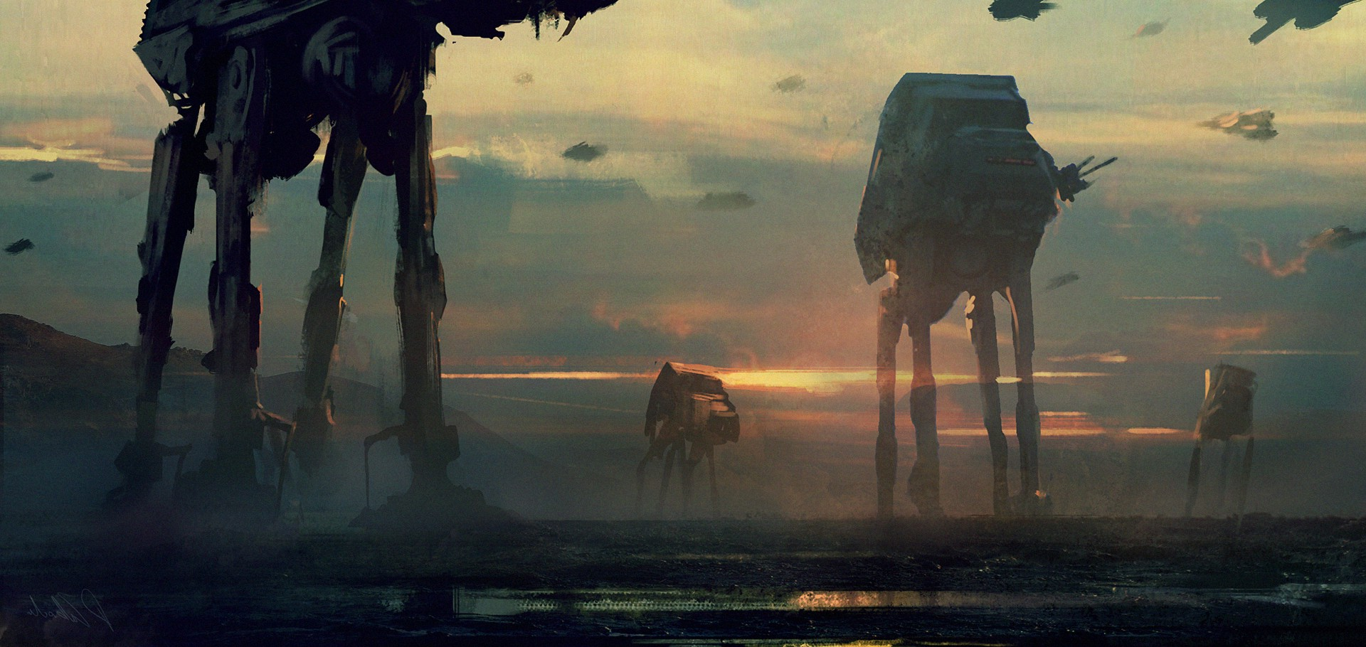 Star Wars Art Wallpaper