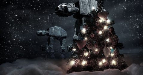 Star Wars Christmas Wallpaper