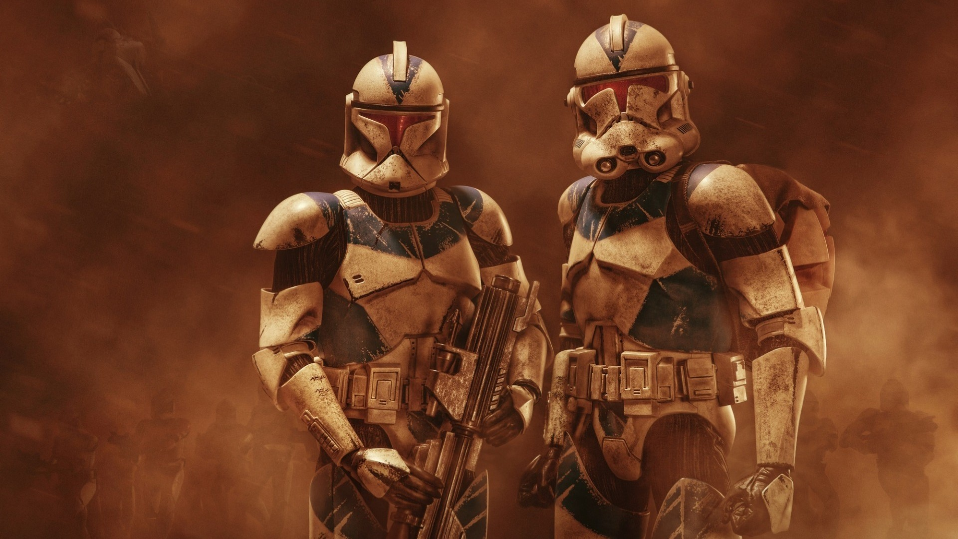 Star Wars Clone Troopers Wallpaper