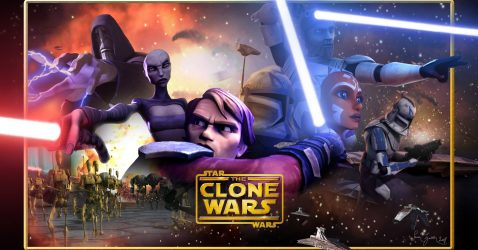 Star Wars Clone War Wallpaper
