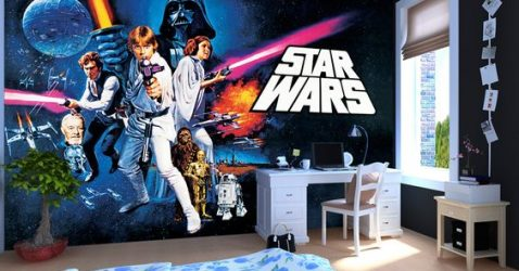 Star Wars Murals Wallpaper