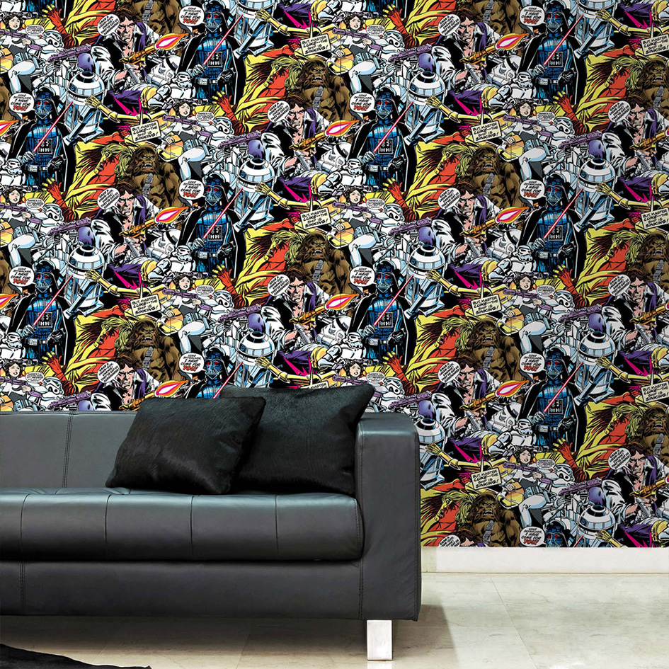Star Wars Room Wallpaper