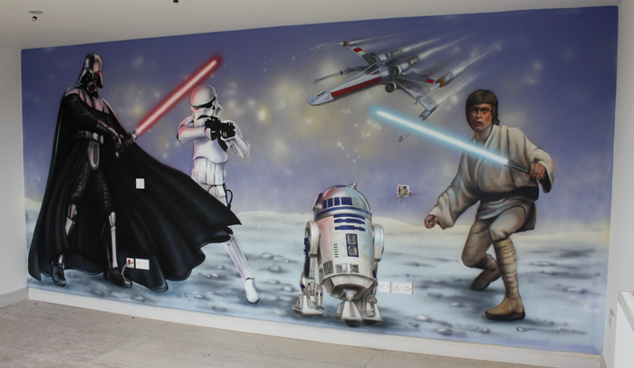Download Star Wars Wallpaper Mural Gallery
