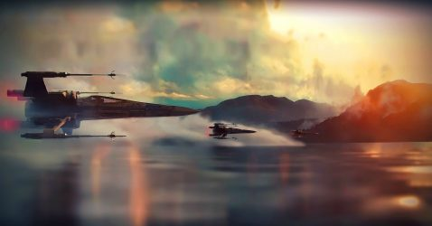 Star Wars X-Wing Wallpaper