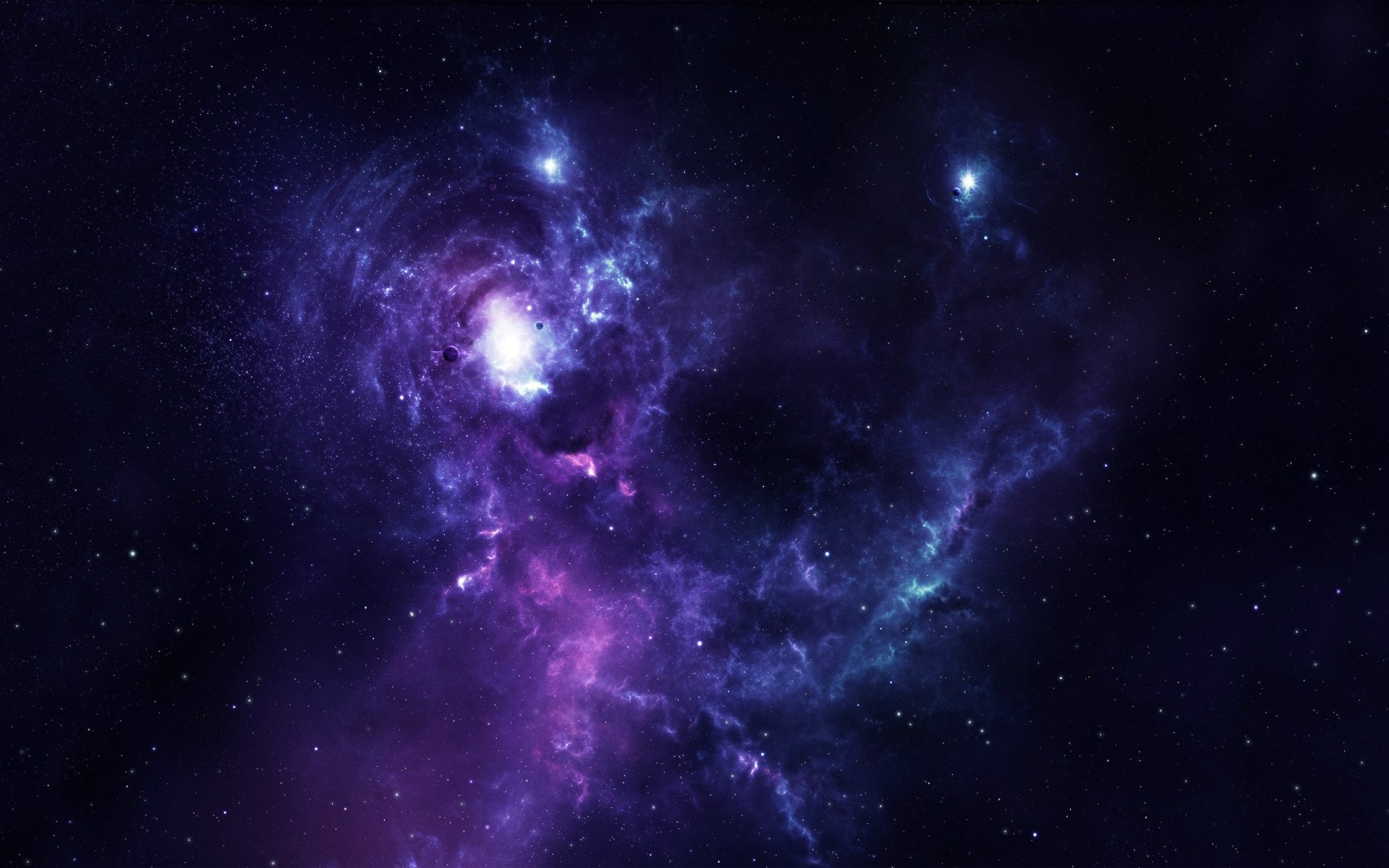 Stars And Space Wallpaper