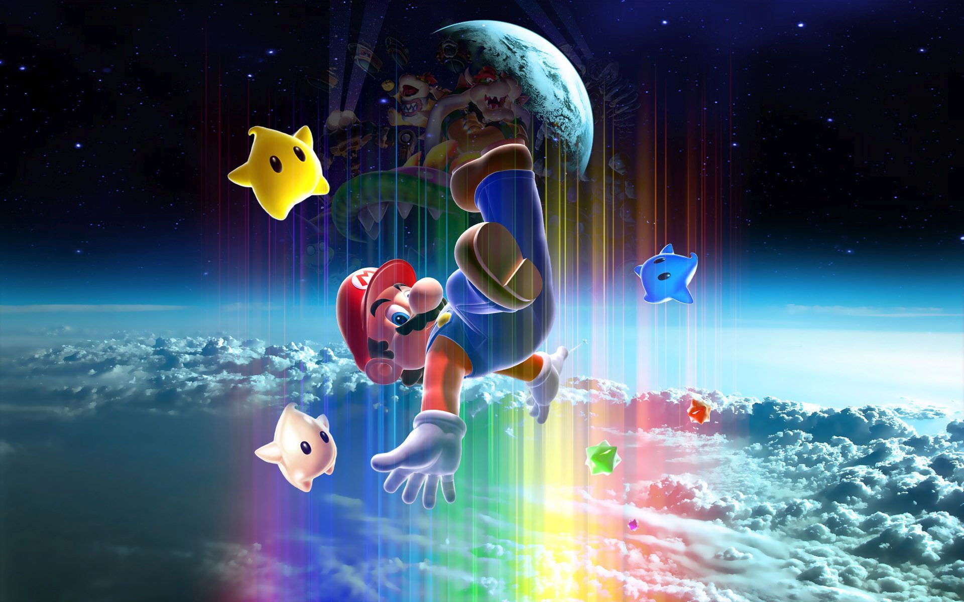 Download Super Mario Galaxy Wallpaper Gallery