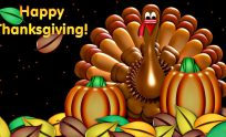 Thanksgiving 3D Wallpaper