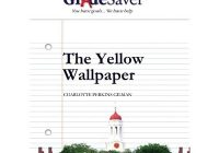 The Yellow Wallpaper Discussion Questions And Answers