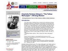 The Yellow Wallpaper Lesson Plans