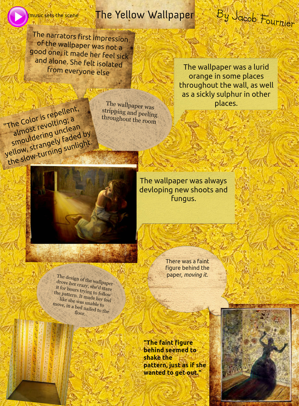 The Yellow Wallpaper Online
