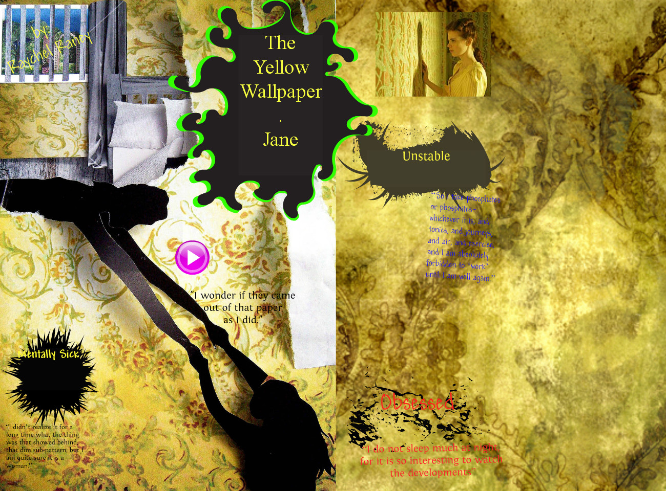 The Yellow Wallpaper Sparknotes Summary
