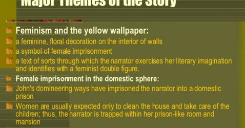 Themes For The Yellow Wallpaper