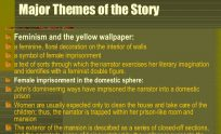 Themes Of The Yellow Wallpaper
