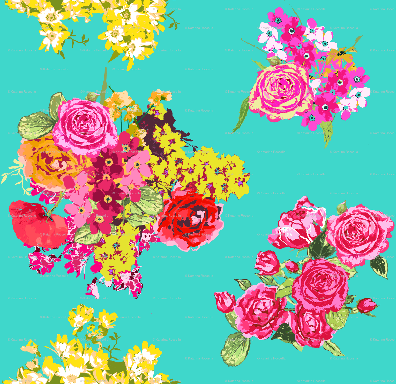 Pink Flowers Wallpaper: Download Turquoise Wallpaper With Pink Flowers Gallery