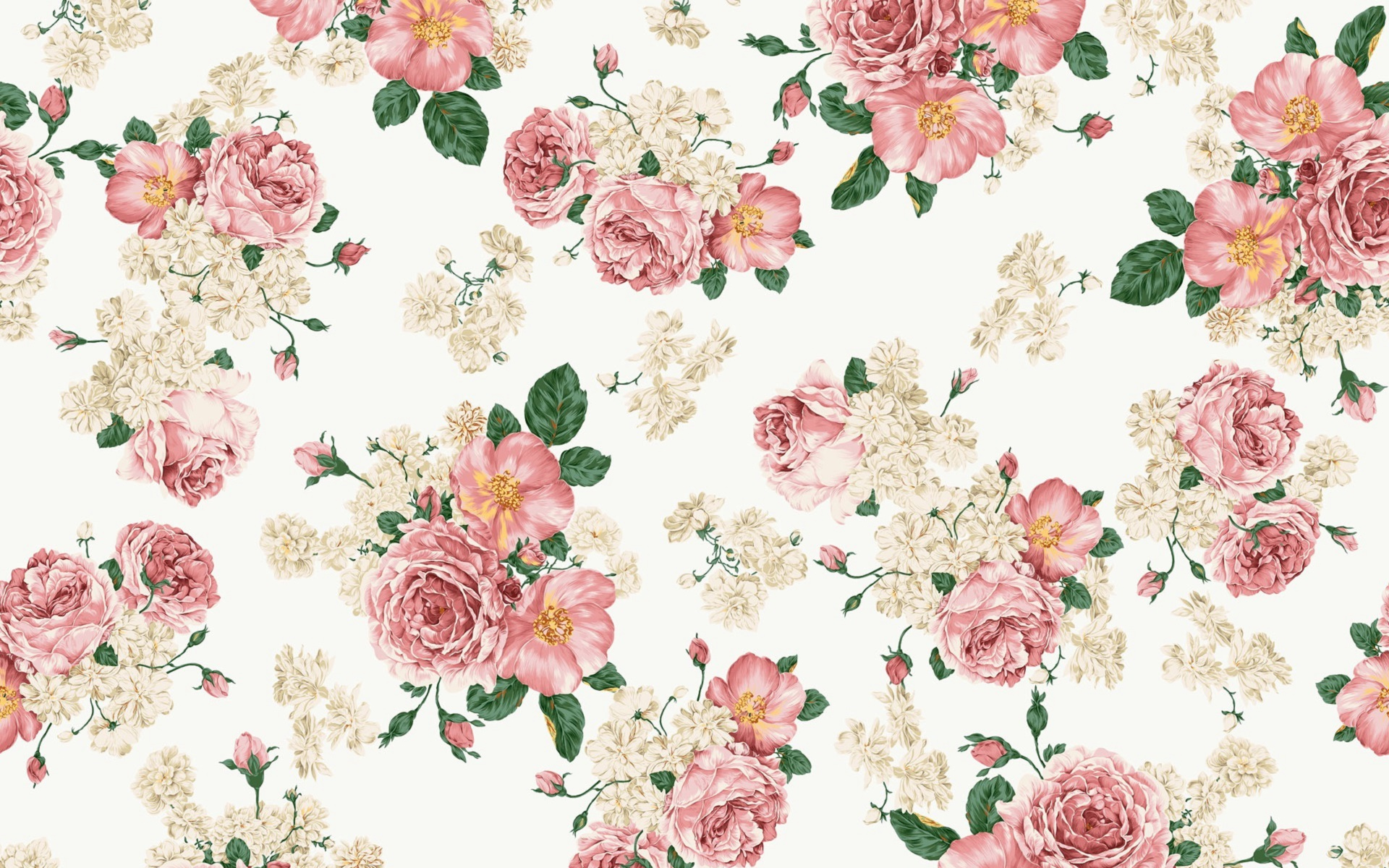 Vintage wallpaper flowers  Vintage Wallpaper Flowers | pecand.com