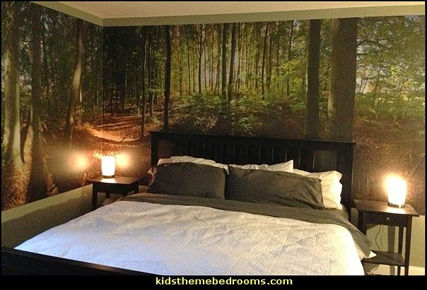 Wallpaper Mural Trees