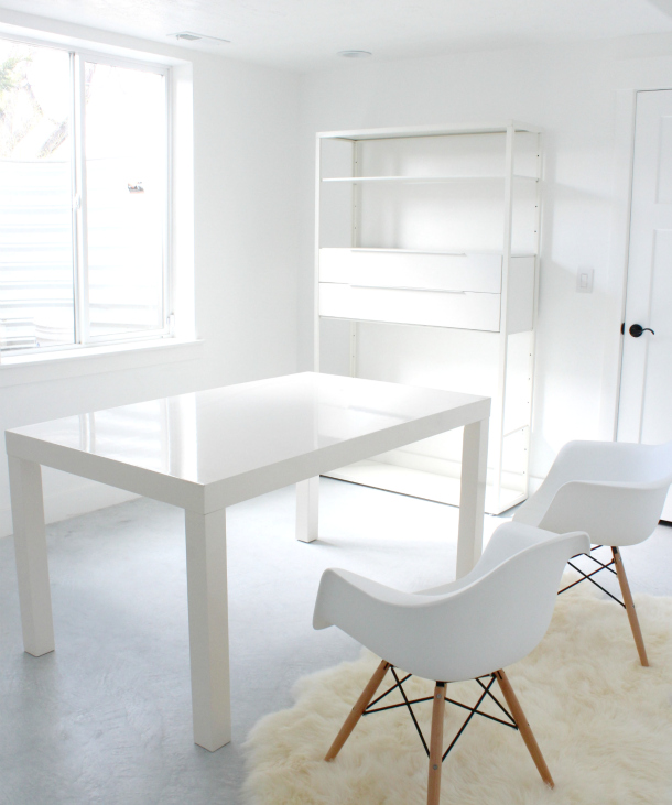 Office Desk Wallpaper: Download White Removable Wallpaper Gallery